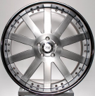 Диск 360 FORGED STRAIGHT TEN SILVER