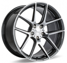 Диск Ace Alloy AFF02 Gloss Mica Grey Machined (Flow Formed)
