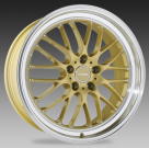Диск Ace Alloy SL-M Gloss Gold w/ Machined Lip