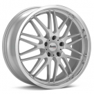 Диск Advanti Racing A9 Costola Silver Machined w/Clearcoat