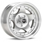 Диск American Racing AR23 Silver Machined w/Clearcoat