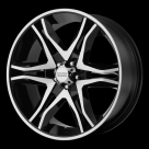 Диск American Racing AR893 Mainline Gloss Black/Machined