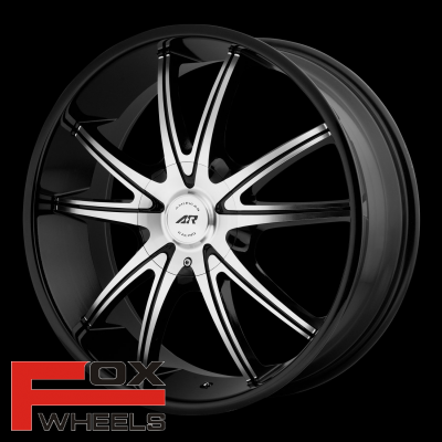 Диск American Racing AR897 Gloss Black/Machined