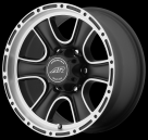 Диск American Racing AR902 Satin Black Machined