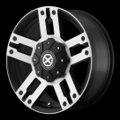 Диск American Racing ATX AX190 Dune Satin Black Machined