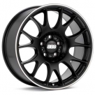 Диск BBS CH Black w/Polished Stainless Lip