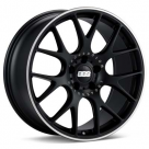 Диск BBS CH-R Black w/Polished Stainless Lip