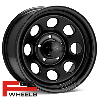 Диск Black Rock 997 Type 8 Steel 16x8 Black Painted