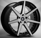 Диск Curva Concepts C47 Gloss Black/Machined