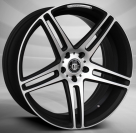 Диск Curva Concepts C5 Gloss Black/Machined