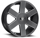 Диск Dub Baller 6 Gloss Black Milled S233