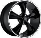 Диск Foose Legend Full Gloss Black with Grooved Lip