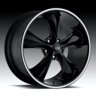 Диск Foose Legend GLOSS BLACK