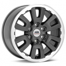 Диск Ford Racing F150 Raptor Silver Machined w/Clearcoat