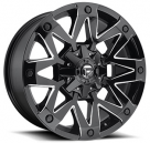 Диск Fuel Ambush Gloss Black Milled D555