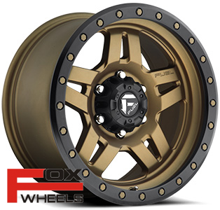Диск Fuel Anza Matte Bronze w/ Black Ring D583