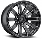 Диск Fuel Diesel Gloss Black Milled D598