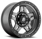 Диск Fuel Off-Road Anza Matte Anthracite w/ Black Ring D558