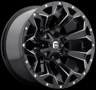 Диск Fuel Off-Road Assault Gloss Black Milled D576