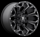 Диск Fuel Off-Road Assault Matte Black Milled D546