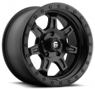 Диск Fuel Off-Road JM2 Matte Black w/ Black Ring D572