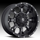 Диск Fuel Off-Road Krank Black Milled D517