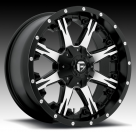 Диск Fuel Off-Road Nutz Black/Machined D541
