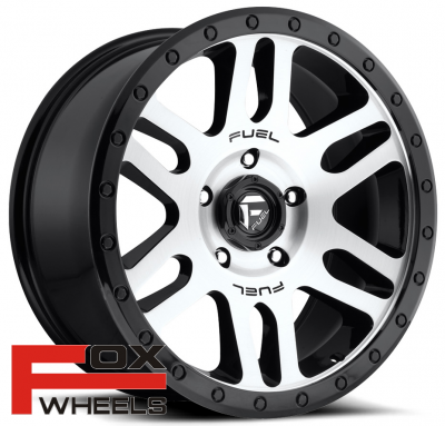 Диск Fuel Off-Road Recoil Gloss Black Brushed D585