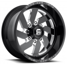 Диск Fuel Off-Road Turbo Gloss Black Milled 8 Lug D582