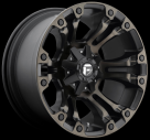 Диск Fuel Off-Road Vapor Black/Machined w/ Tint D569