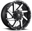 Диск Fuel Renegade Black Machined D593