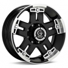 Диск Granite Alloy GV4 Machined w/Black Accent