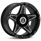 Диск Granite Alloy GV5S Machined w/Black Accent