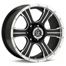 Диск Granite Alloy GV6 Machined w/Black Accent