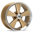 Диск Hurst Dazzler 17x8 Machined w/Gold Accent