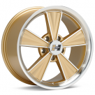 Диск Hurst Dazzler 17x9 Machined w/Gold Accent
