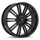 Диск KMC KM677 D2 Black Painted