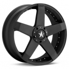 Диск KMC KM775 Rockstar Car Black Painted