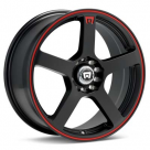 Диск MOTEGI RACING MR116 Machined w/Black Accent