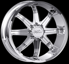 Диск Milanni 446 Kool Whip 8 CHROME