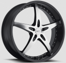 Диск Milanni 453 ZS-1 Gloss Black w/Machined Face