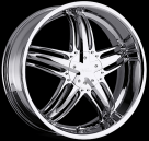 Диск Milanni 457 Force CHROME