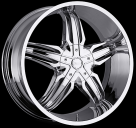 Диск Milanni 458 Phoenix CHROME