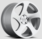 Диск Rotiform TMB Silver Machined (True Directional) R130