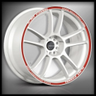 Диск Tenzo Racing DC-5 WHITE RED LIP