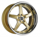 Диск Vertini Drift Gloss Gold w/ Chrome Stainless Steel Lip