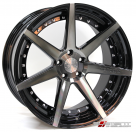 Диск Vertini Dynasty Gloss Black/Tinted Machined