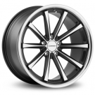 Диск Vossen CV1 Matte Black Machined / Stainless Lip